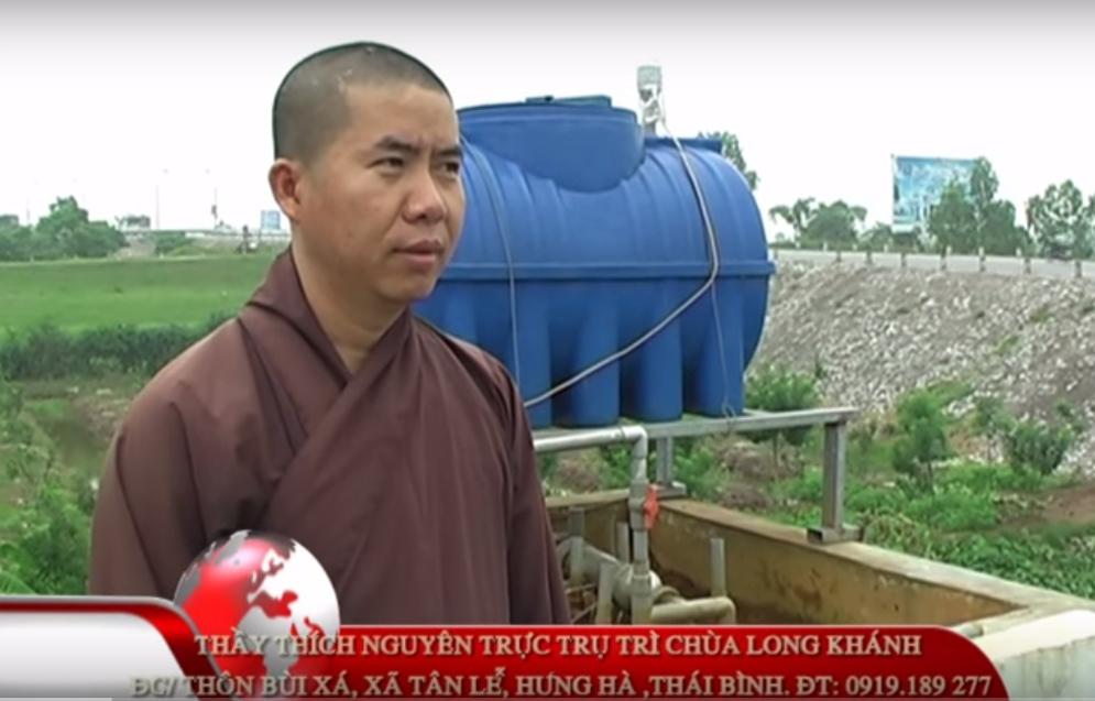 Hệ thống MET 02 tại chùa Long Khánh, Hưng Hà, tỉnh Thái Bình