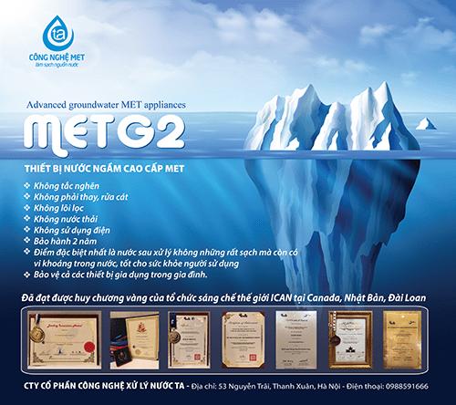 Thiết bị nước ngầm cao cấp METG2
