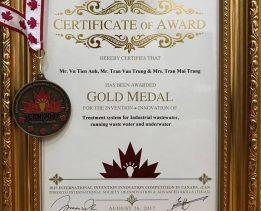Giải thưởng Gold Medal công nghệ MET
