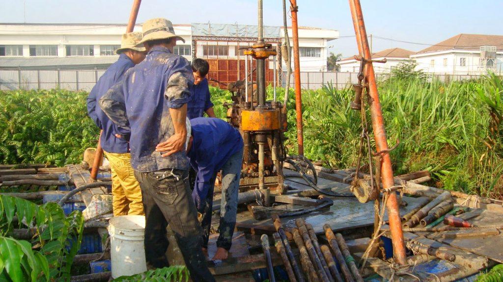 quy trình lọc nước giếng khoan