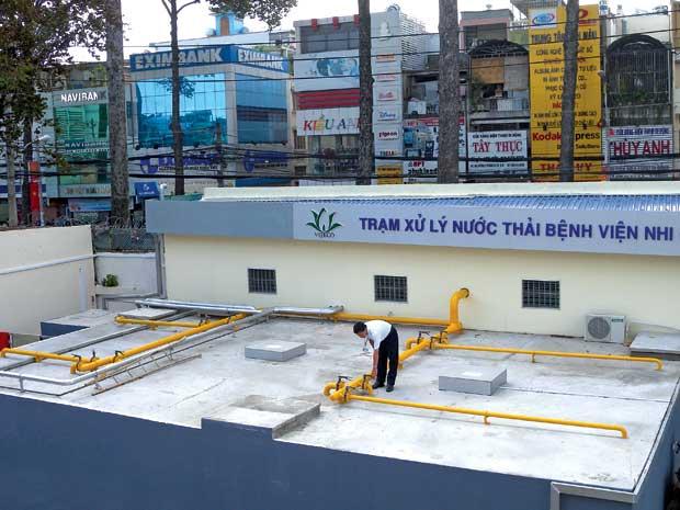Cach Xu Ly Nuoc Thai Benh Vien