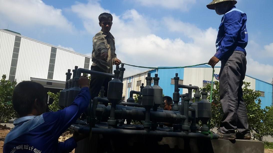 Hình ảnh công nghệ xử lý nước