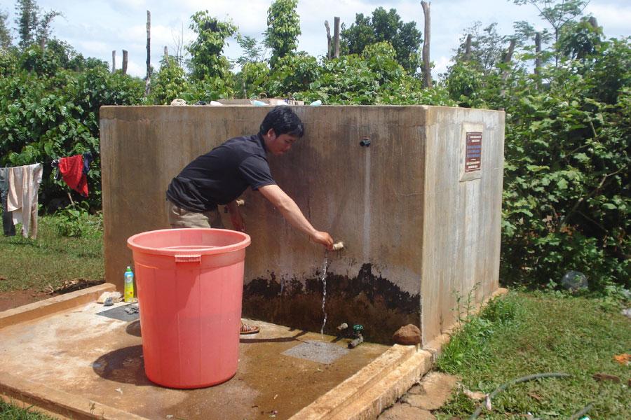 bể lọc nước đơn giản