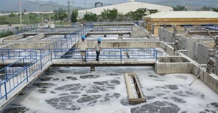 mô hình xử lý nước thải công nghiệp