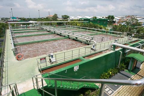 quy trình xử lý nước thải công nghiệp