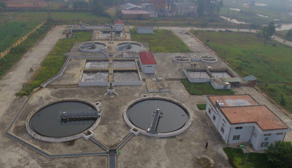 Công nghệ xử lý nước tại Vĩnh Phúc chiếm diện tích lớn