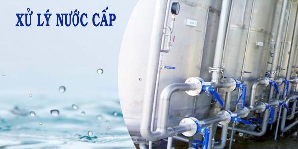 sơ đồ công nghệ xử lý nước cấp 1