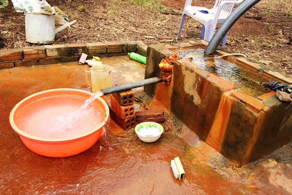 Cách lọc nước giếng khoan