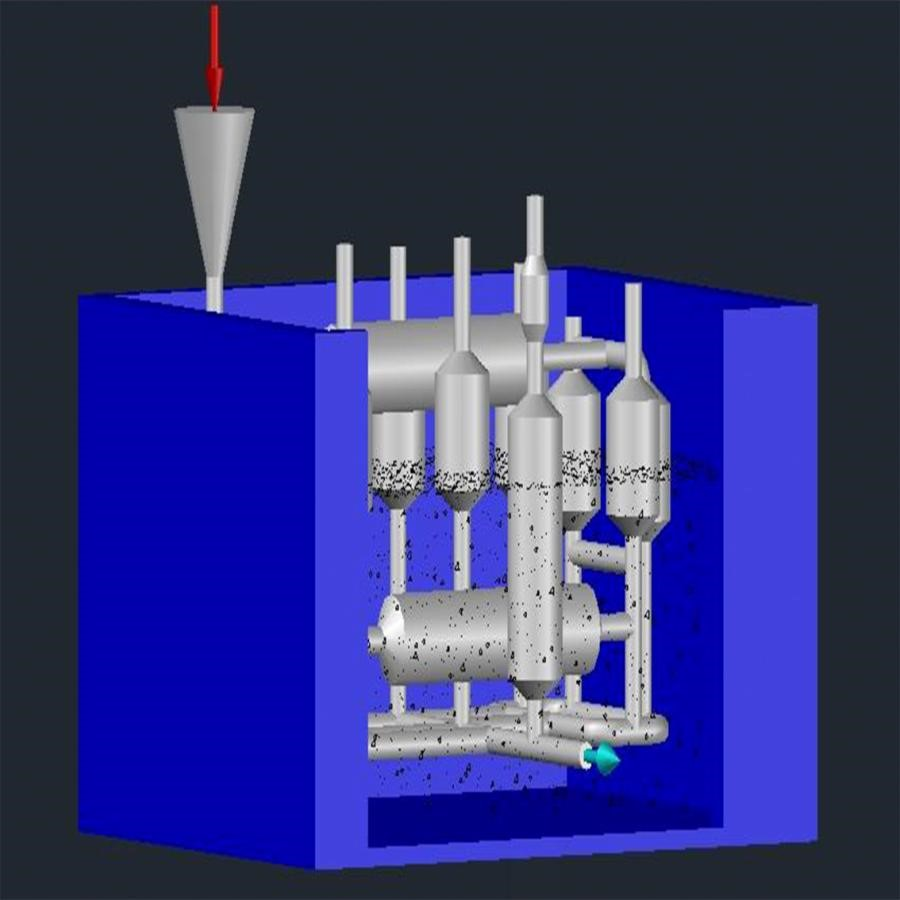 Công trình xử lý nước giếng khoan tại Thái Bình