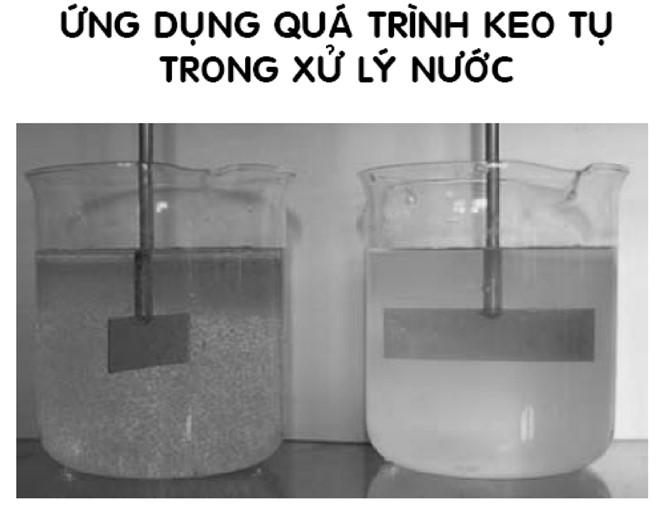 xử lý nước thải bằng keo tụ tạo bông
