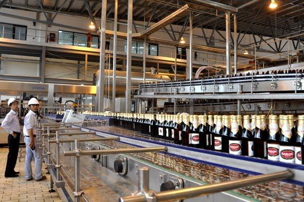 xử lý nước thải nhà máy bia