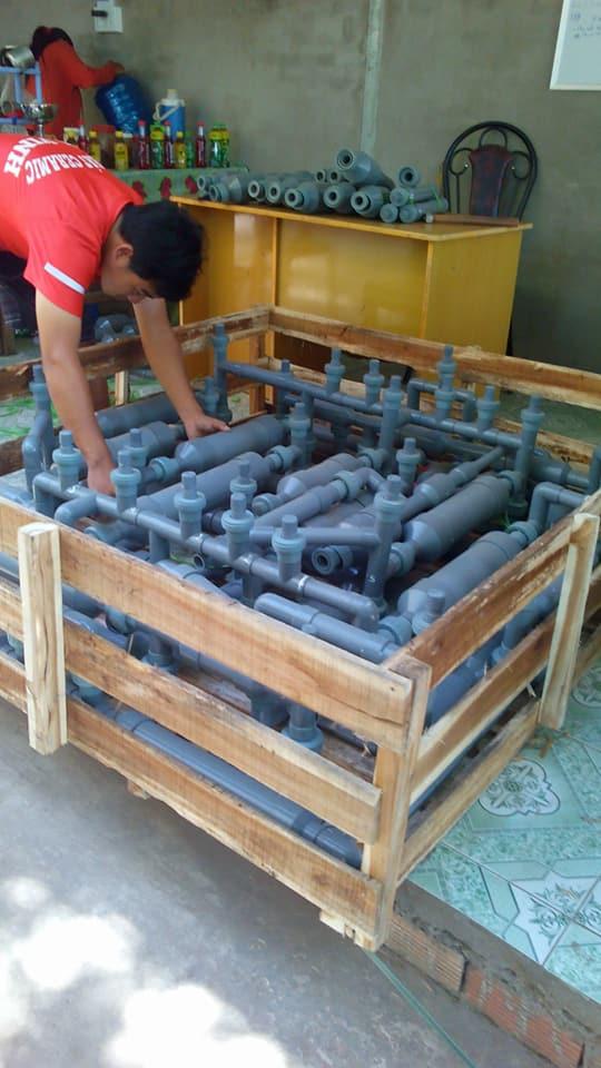 xử lý nước hồ bơi không cần hóa chất đầu tiên tại Việt Nam