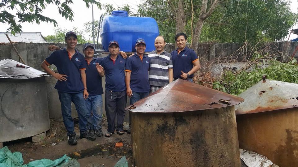 Hệ thống xử lý nước thải cơ sở chế biến mắm ruốc