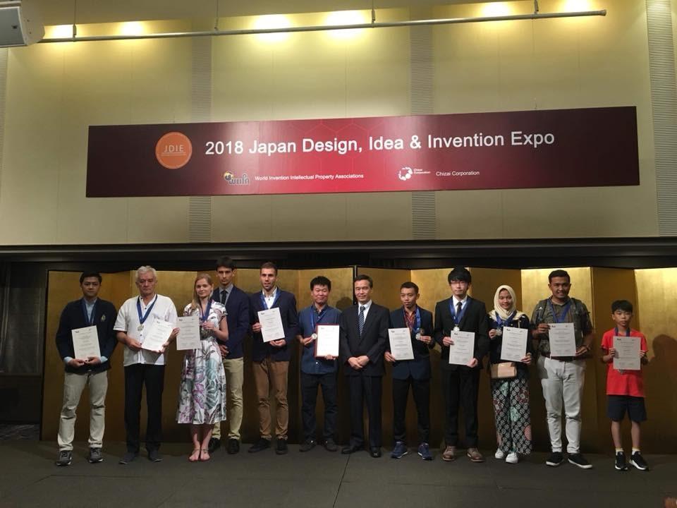 Công nghệ MET đạt giải vàng quốc tế tại cuộc thi 2018 Japan Design, Idea & Invention Expo