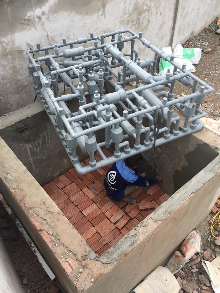 Xử lý nước phèn nuôi cá bằng công nghệ MET