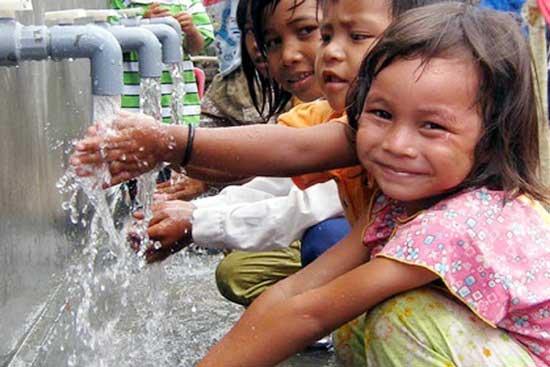 Nước cấp sinh hoạt