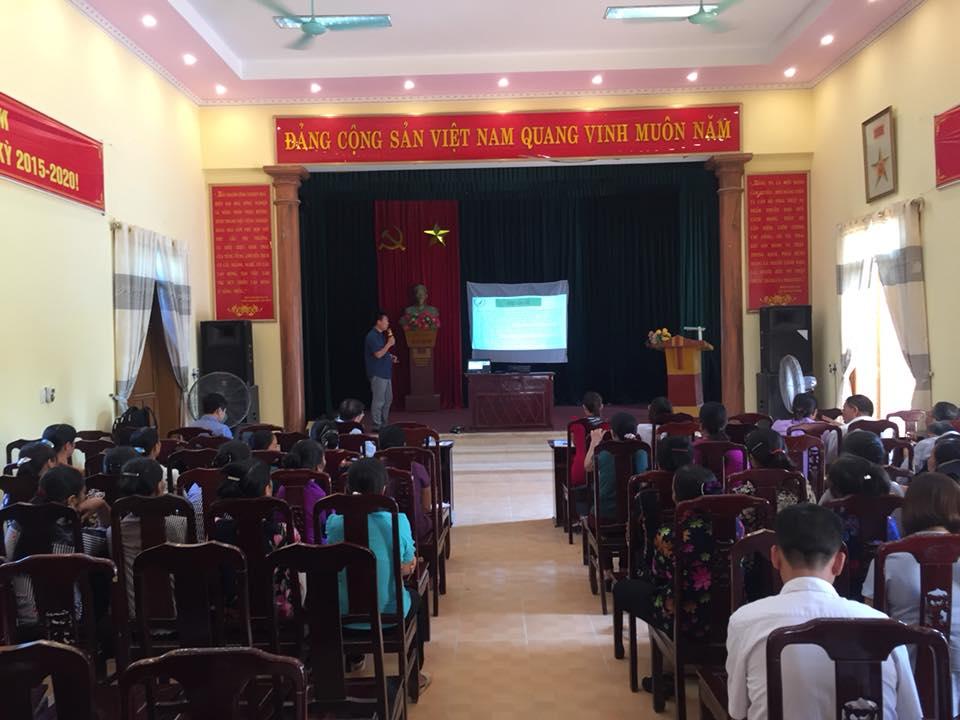 CNMET kêu gọi nguồn tài trợ để 2 xã Bình Nghĩa, Tràng An có nguồn nước sạch