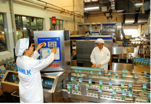 Nước thải nhà máy sữa
