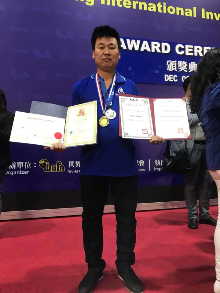 CN Met đạt 4 giải thưởng cao nhất tại 2018 Kaohiung International Invention & Design EXPO