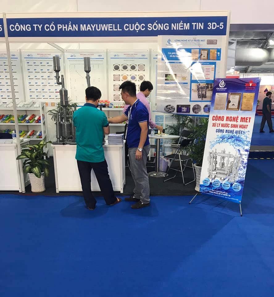 Công nghệ MET tham gia Việt Water 2018