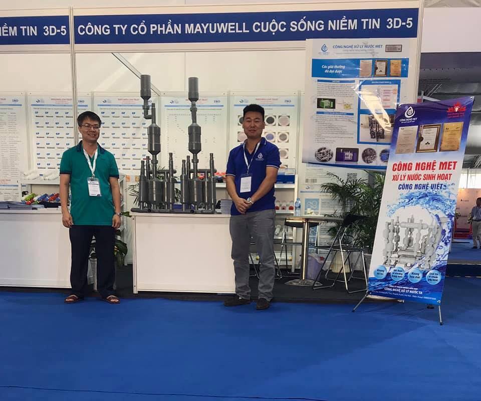 Công nghệ MET tham dự hội thảo VietWater 2018 thành công