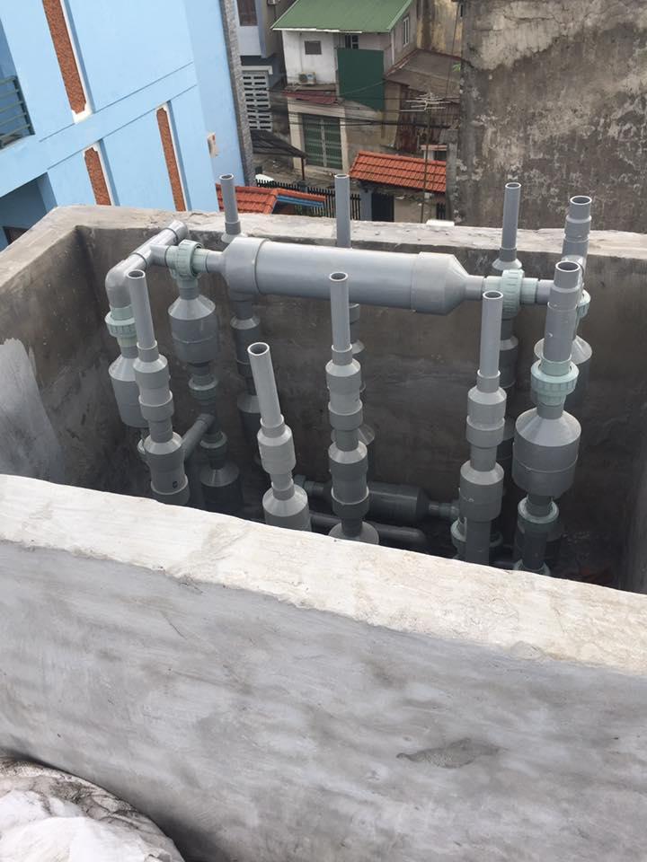 Xử lý amoni trong nước cấp