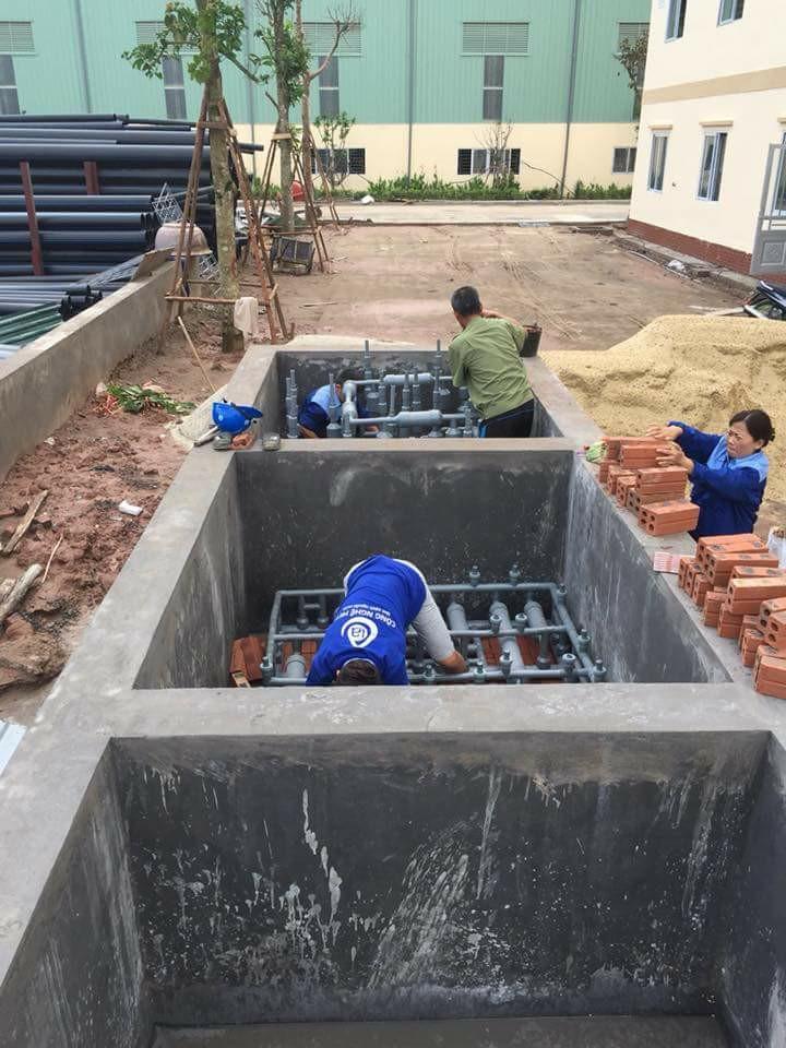 Xử lý nước giếng khoan nhiễm mặn bằng Công Nghệ MET