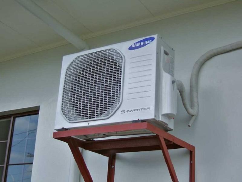 máy điều hòa tạo ra nước thải