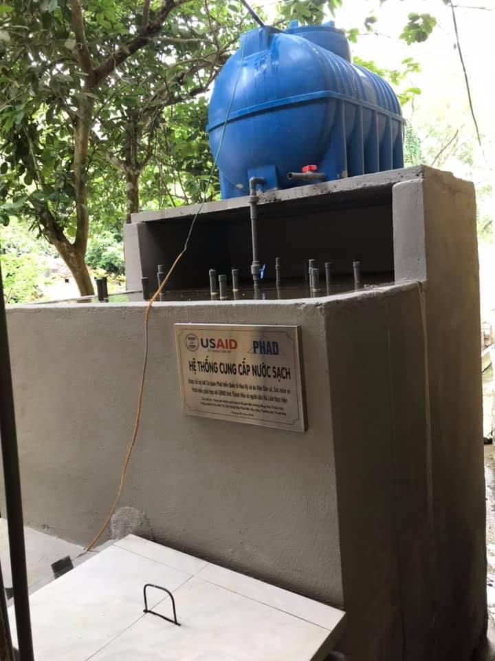 Lễ khánh thành bàn giao hệ thống cấp nước sạch tại Thanh Hóa