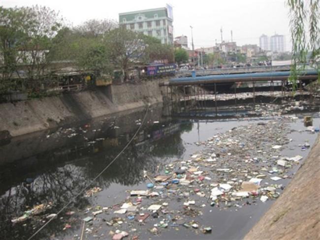 Ô nhiễm nước thải sinh hoạt