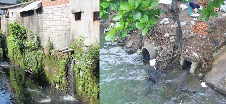 Photpho trong nước thải sinh hoạt