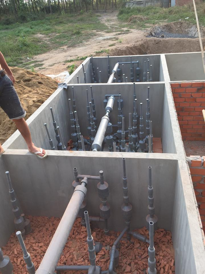 Các nhà máy xử lý nước thải ở Hà Nội