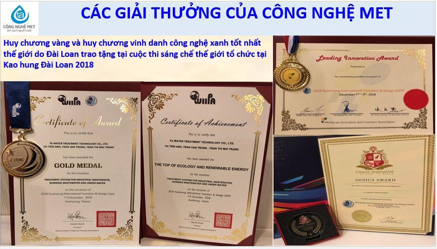 Giải thưởng CNMET