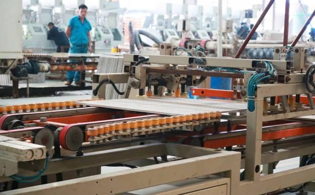 cơ sở sản xuất gạch men