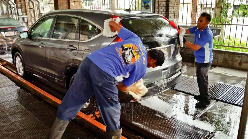 Đặc điểm của nước thải rửa xe