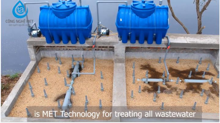 Công nghệ met trong xử lý nước