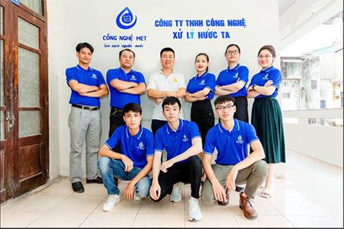Đội ngũ công ty TNHH Công nghệ Xử lý nước TA