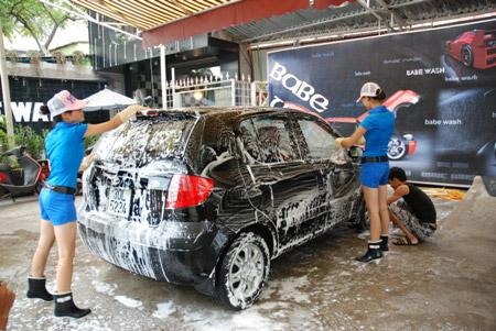 Nước thải rửa xe