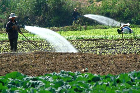 Xử lý nước giếng khoan tưới cây là nhu cầu rất cần thiết