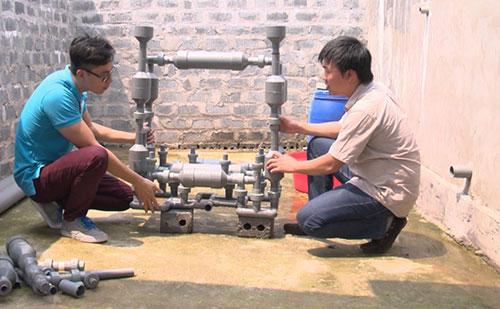 Xử lý nước cấp bằng công nghệ met