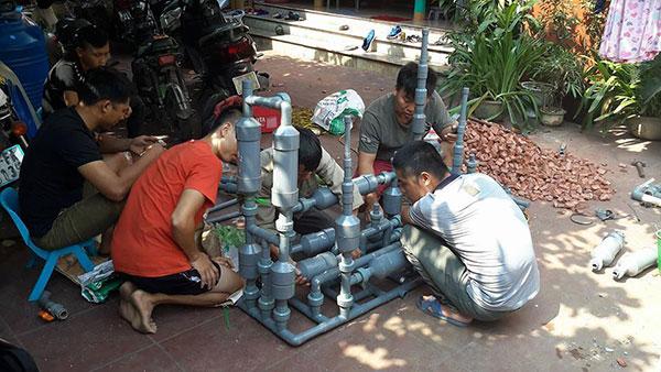 Xử lý nước trạm xăng dầu bằng công nghệ Met