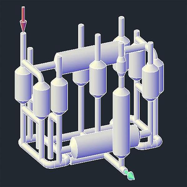 Xử lý nước sông hồtheo công nghệ MET