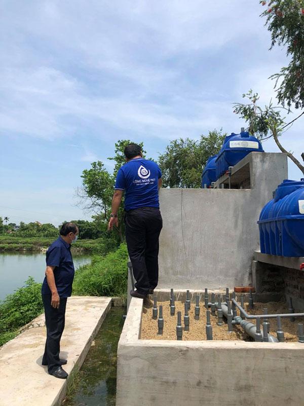 xử lý nước thải xi măng bằng Công nghệ Met