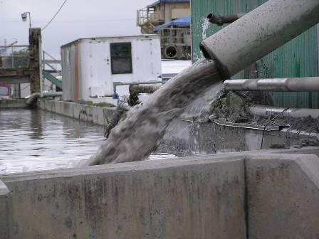 xử lý nước thải xi măng